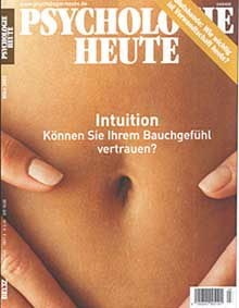 Psychologie Heute - Cover Heft 03/2003